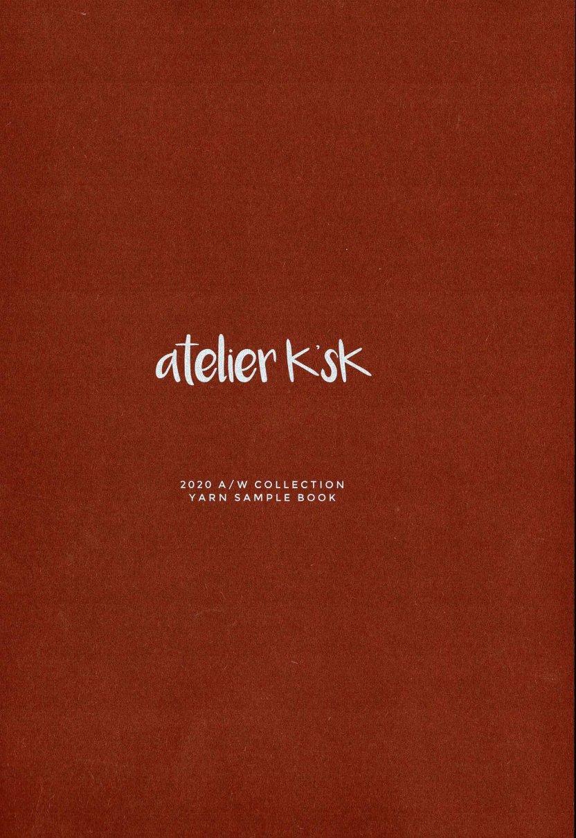アトリエK'sK 2020AW見本帳(本のみ注文。ネコポス配送料込)