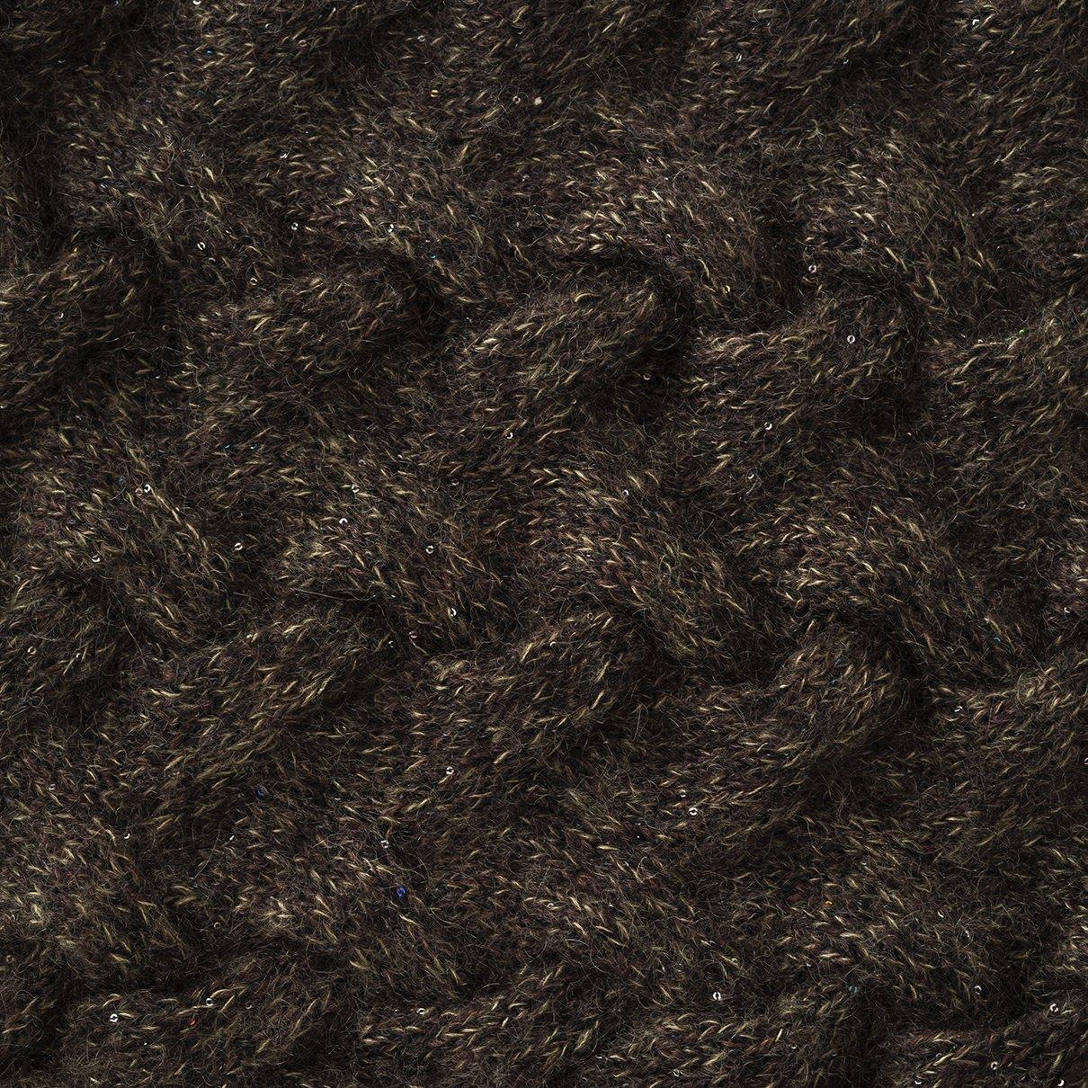 立体的ななわ編みプルオーバー