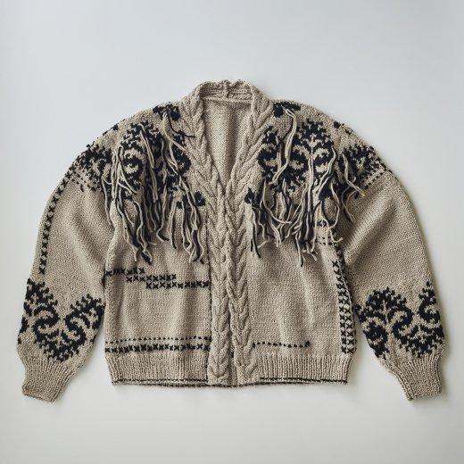 編み込みジャケット
