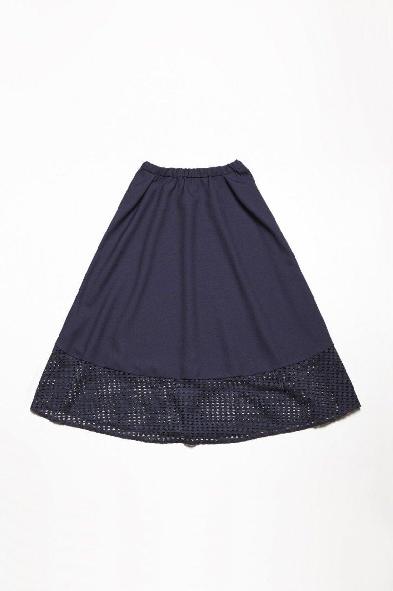 レースの切り替えスカート(製品)