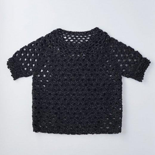 松編み模様のプルオーバー Lサイズ