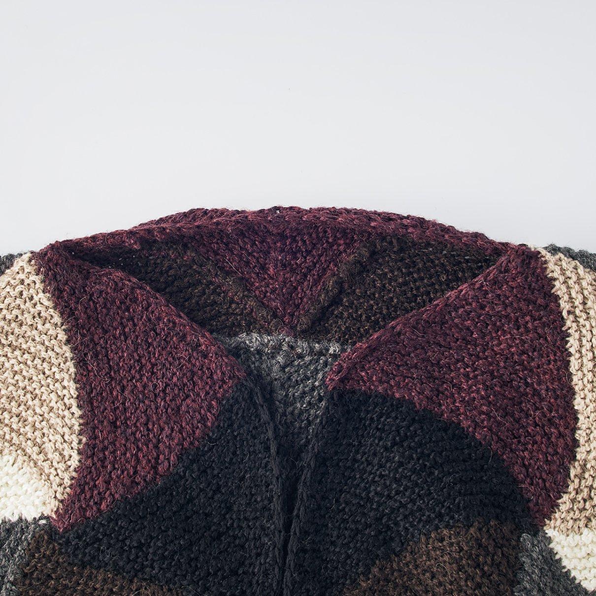 三角モチーフのジャケットL