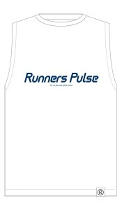 Runners Pulse Sleeveless Tee(White) 予約期間:2016/5/25〜6/2<img class='new_mark_img2' src='//img.shop-pro.jp/img/new/icons50.gif' style='border:none;display:inline;margin:0px;padding:0px;width:auto;' />