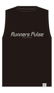 Runners Pulse Sleeveless Tee(Black) 予約期間:2016/5/25〜6/2<img class='new_mark_img2' src='//img.shop-pro.jp/img/new/icons50.gif' style='border:none;display:inline;margin:0px;padding:0px;width:auto;' />