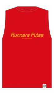Runners Pulse Sleeveless Tee(Red) 予約期間:2016/5/25〜6/2<img class='new_mark_img2' src='//img.shop-pro.jp/img/new/icons50.gif' style='border:none;display:inline;margin:0px;padding:0px;width:auto;' />
