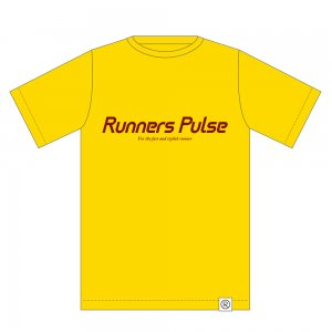 Runners Pulse Original Tee(yellow)<img class='new_mark_img2' src='//img.shop-pro.jp/img/new/icons50.gif' style='border:none;display:inline;margin:0px;padding:0px;width:auto;' />
