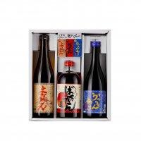 ご当地リキュール酒3種飲み比べセット(ばくだん、うっちんちゅ、よかどん)
