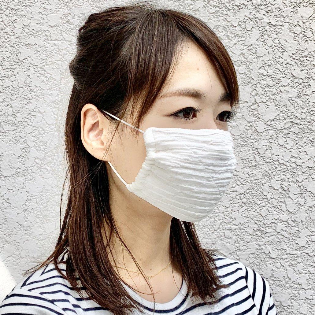 ネクタイ・ストールの通販 ZAIKI リンクルマスク(西陣織マスク【大人用】)+保冷剤セットの商品画像