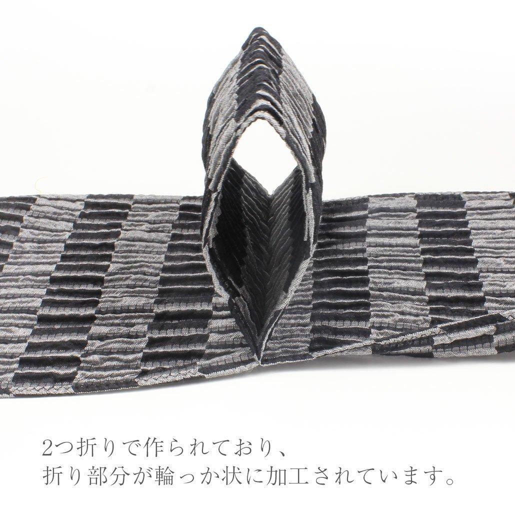 ネクタイ・ストールの通販 ZAIKI リンクルワンタッチストール WROS-1-Aの商品画像