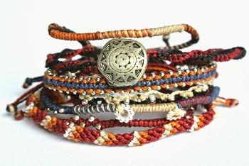 Wakamiブレスレット Earth Bracelet7ストランド/アフリカン 通販
