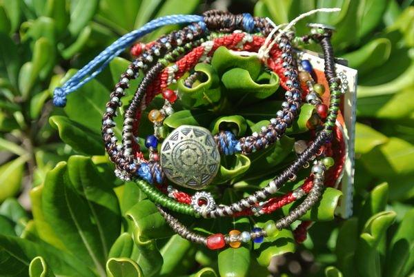 Wakamiブレスレット Earth Bracelet4ストランド 通販