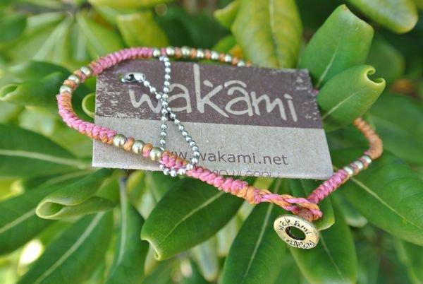Wakamiブレスレット People シングル ピンク/ゴールド 通販