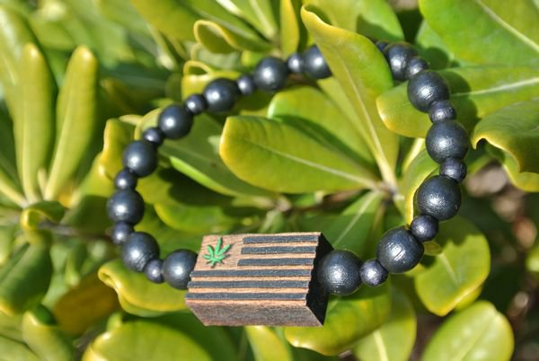 GOODWOOD NYCブレスレット Weed Flag Bracelet Black 通販