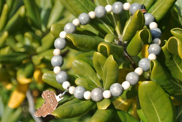 GOODWOOD NYCブレスレット Africa Bracelet Natural Gray Natural 通販