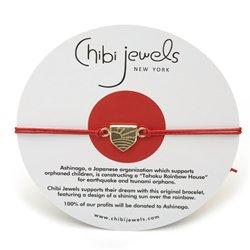 chibi jewelsブレスレット あしながドリーム レッド 通販