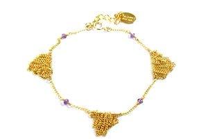 chibi jewelsブレスレット フリンジ ウィズ アメジスト 通販