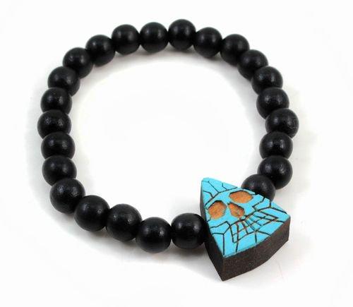 GOODWOOD NYCブレスレット Fractal Triangle Skull Bracelet ターコイズ 通販