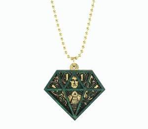 GOODWOOD NYC マネーダイヤモンド ネックレス/グリーン 通販