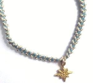 chibi jewelsブレスレット パステルコード ウィズ ブリリアントスターチャーム/ブルーベリー 通販