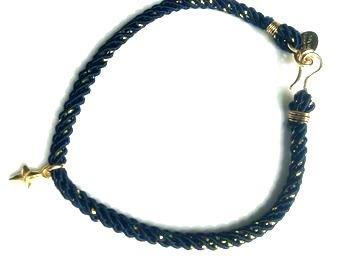 chibi jewelsブレスレット ミッドナイトコード ウィズ トゥインクリングスターチャーム/ブラック 通販