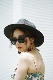 Panama Hat<br>[Black]