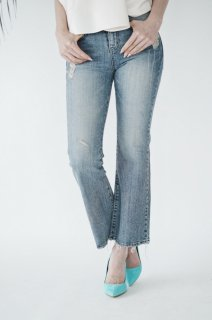 Flare Wide  Denim<br>[S/M]
