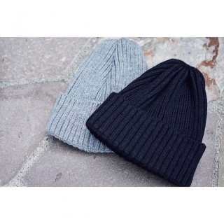 Basic Knit cap<br>[Gray/Black]