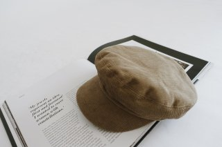 Corduroy Casquette<br>[BROWN]