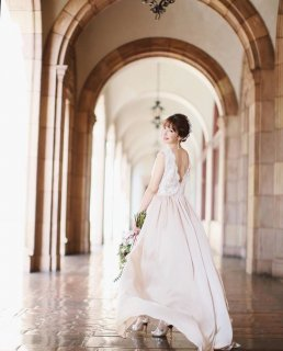 ーRentalー<br>LALs brides Evening Dress<br>【Lottie】