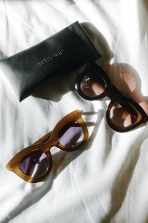 <img class='new_mark_img1' src='https://img.shop-pro.jp/img/new/icons38.gif' style='border:none;display:inline;margin:0px;padding:0px;width:auto;' />Big Frame UV Sunglasses<br>[Brown/Olive]【sample】<br>【残り1点】