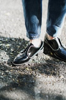 <img class='new_mark_img1' src='//img.shop-pro.jp/img/new/icons8.gif' style='border:none;display:inline;margin:0px;padding:0px;width:auto;' />Ballchain Oxford Shoes<br>[Black/S,M,L]