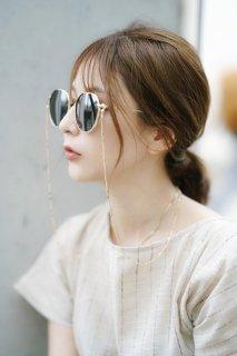 RIETI<br>Metal Frame Sunglasses-UV400-<br>[Gold]<br>【残り1点】