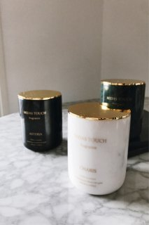 <img class='new_mark_img1' src='//img.shop-pro.jp/img/new/icons8.gif' style='border:none;display:inline;margin:0px;padding:0px;width:auto;' />MIDASTOUCH FRAGRANCE<br>Marble Aroma Candle<br>[Black/Green/White]