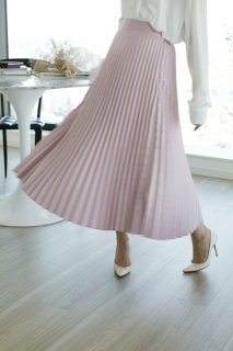 <img class='new_mark_img1' src='//img.shop-pro.jp/img/new/icons8.gif' style='border:none;display:inline;margin:0px;padding:0px;width:auto;' />Color Pleats Skirt<br>[PINK]