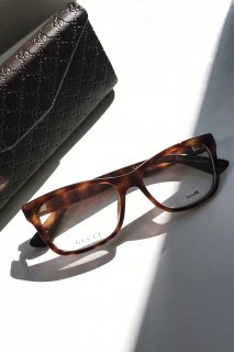 <img class='new_mark_img1' src='//img.shop-pro.jp/img/new/icons8.gif' style='border:none;display:inline;margin:0px;padding:0px;width:auto;' />GUCCI<br>TORTOISE / Clearlens Eyeglasses