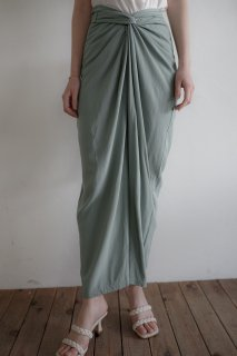 Wrap Like Wide Pants <br>[PALEGREEN]