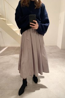 <img class='new_mark_img1' src='https://img.shop-pro.jp/img/new/icons38.gif' style='border:none;display:inline;margin:0px;padding:0px;width:auto;' />Gathered Nylon Skirt<br>[GREY][SAMPLE]