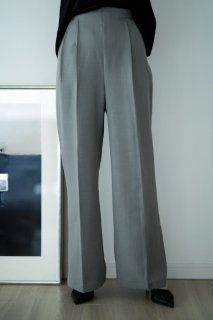 High-Waist Wide Pants<br>[GREY][S/M]