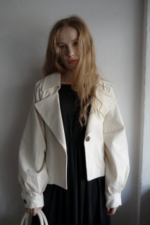 <img class='new_mark_img1' src='https://img.shop-pro.jp/img/new/icons8.gif' style='border:none;display:inline;margin:0px;padding:0px;width:auto;' />3Way Linen Like Belted Jacket<br>[WHITE]