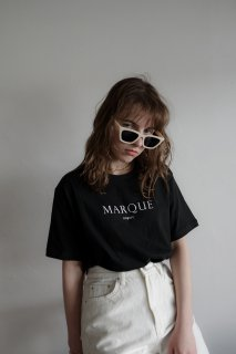 <img class='new_mark_img1' src='https://img.shop-pro.jp/img/new/icons56.gif' style='border:none;display:inline;margin:0px;padding:0px;width:auto;' />MARQUE T-shirt<br>[BLACK/WHITE]