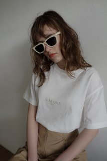 <img class='new_mark_img1' src='https://img.shop-pro.jp/img/new/icons8.gif' style='border:none;display:inline;margin:0px;padding:0px;width:auto;' />MARQUE T-shirt 2 [WHITE×BEIGE]<br>