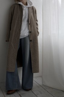 <img class='new_mark_img1' src='https://img.shop-pro.jp/img/new/icons8.gif' style='border:none;display:inline;margin:0px;padding:0px;width:auto;' />Double Button Wool Coat<br>[BEIGE]