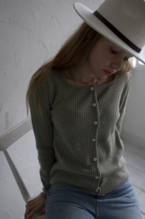 <img class='new_mark_img1' src='https://img.shop-pro.jp/img/new/icons8.gif' style='border:none;display:inline;margin:0px;padding:0px;width:auto;' />Collar Knit Cardigan<br>[ORANGE/GREEN]