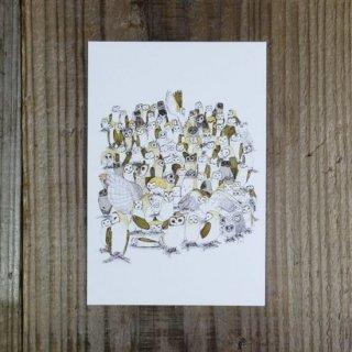 SocksOwl ポストカード 「101匹メンちゃん」