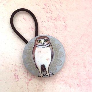 kaori-art ヘアゴム フクロウ