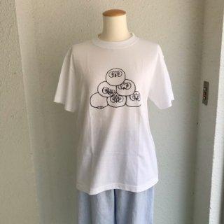 十堂 『けだまんじゅう』Tシャツ S、M、L