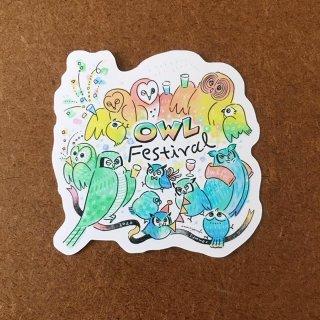泉はるか OWL festival ステッカー
