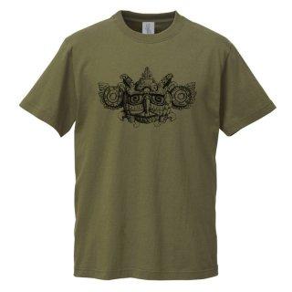 十堂「Jade Mask」Tシャツ シティグリーン S、M、L、