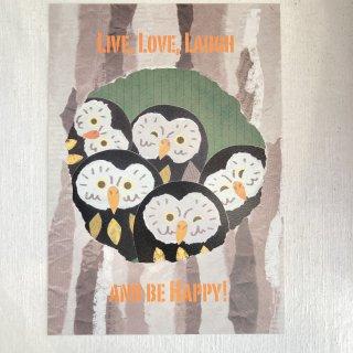 aya yonezawa ポスターA4 木の中から