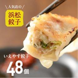【人気店の浜松餃子】やさいたっぷり!いえやす餃子【48個】ご家庭用